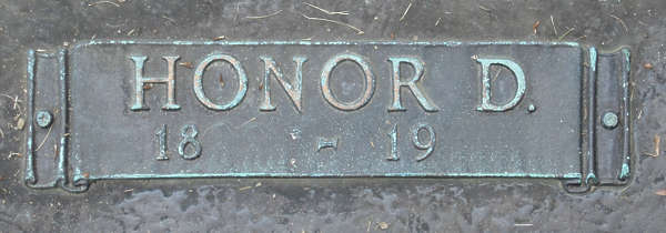 ornament plate bronze copper gravestone tombstone banner