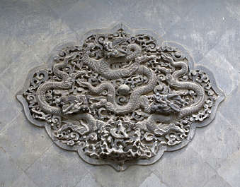 ornament dragon chinese stone