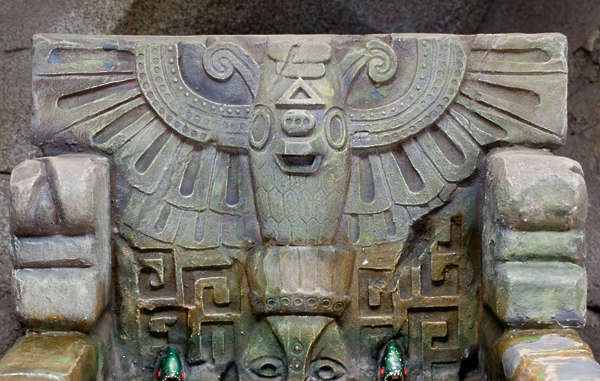 ornament inca stone