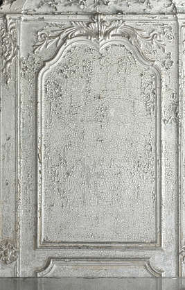 ornament ornate plaster house old panel mirror