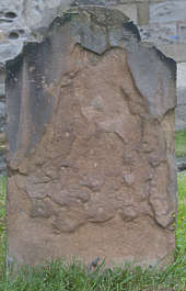 tombstone gravestone tomb grave old UK broken damaged headstone