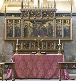 UK church cathedral altar ornate