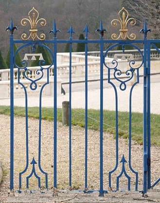 fence iron wrought