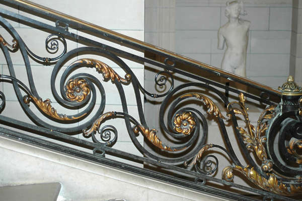 ornament staircase curl