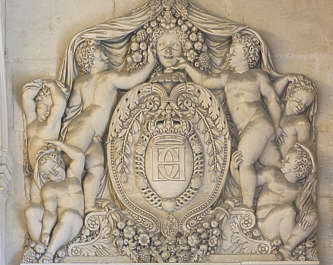 ornament ornate france relief sculpture stone