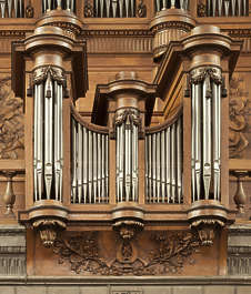ornate ornament france organ