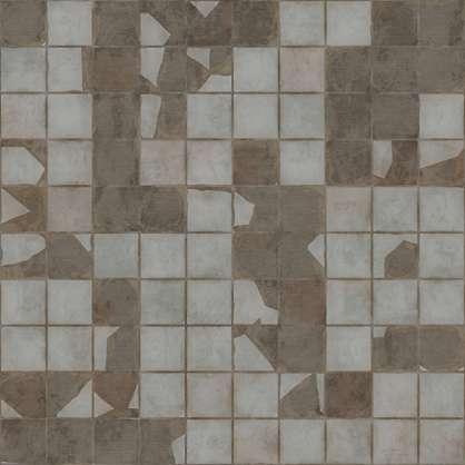 Broken Ceramic Tile Wall Pbr00205