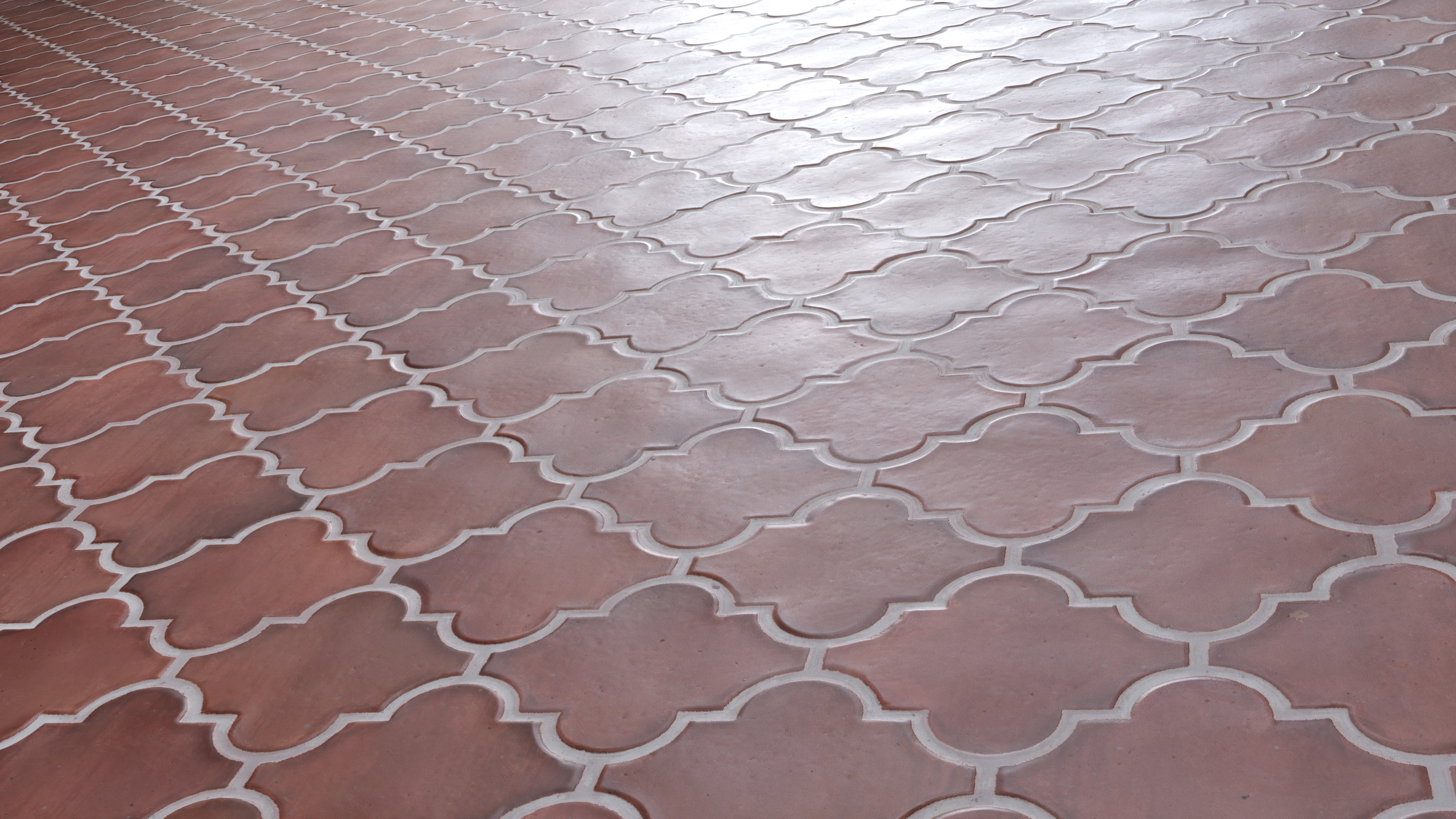 Arabesque Mediterranean Floor Tiles