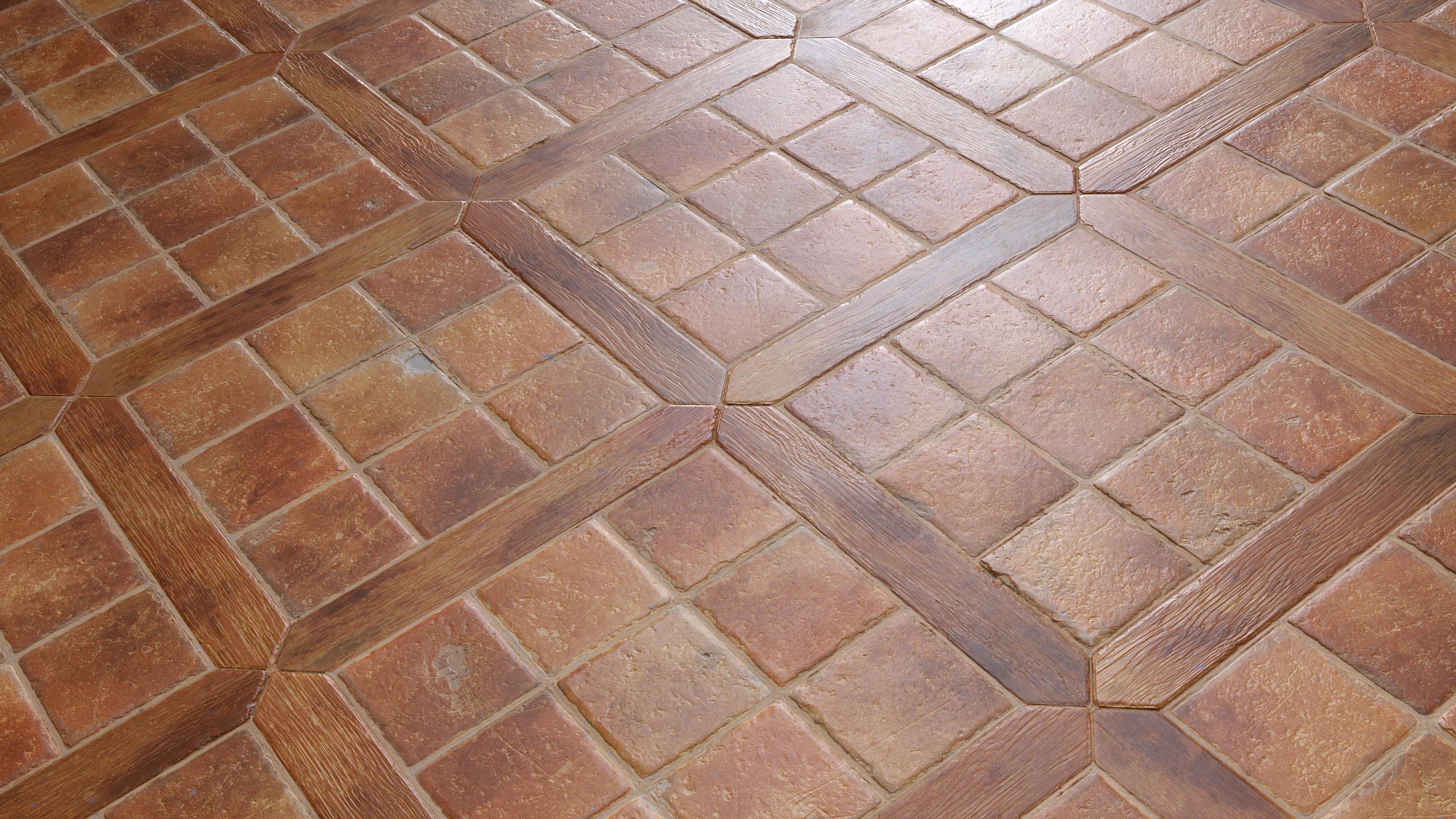 Mediterranean Floor Tiles Pbr00201