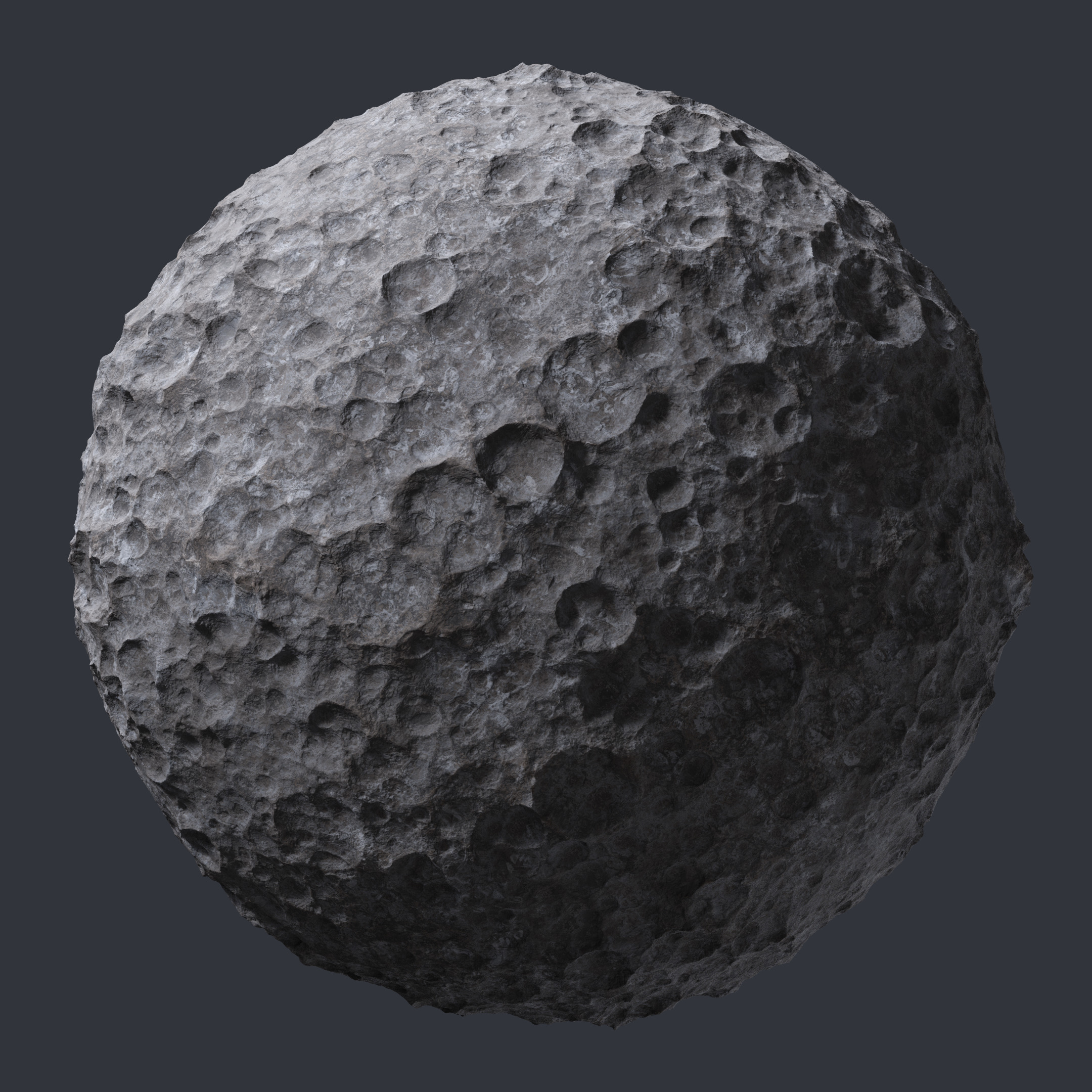 Asteroid Rock Surface Pbr0221
