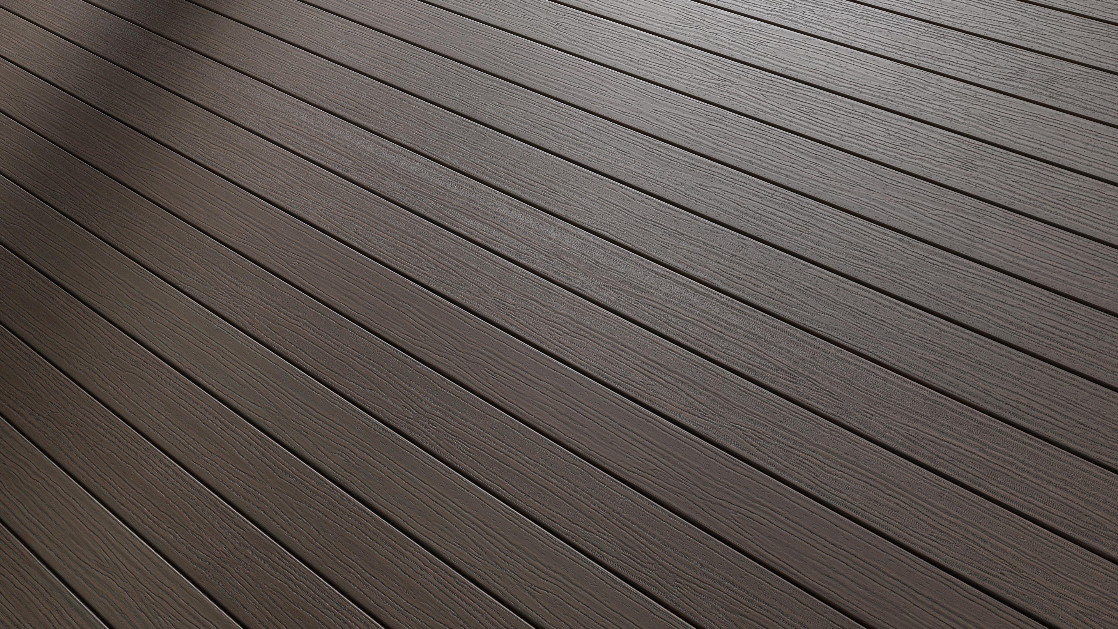 Grainy Composite Decking Floor Pbr0285