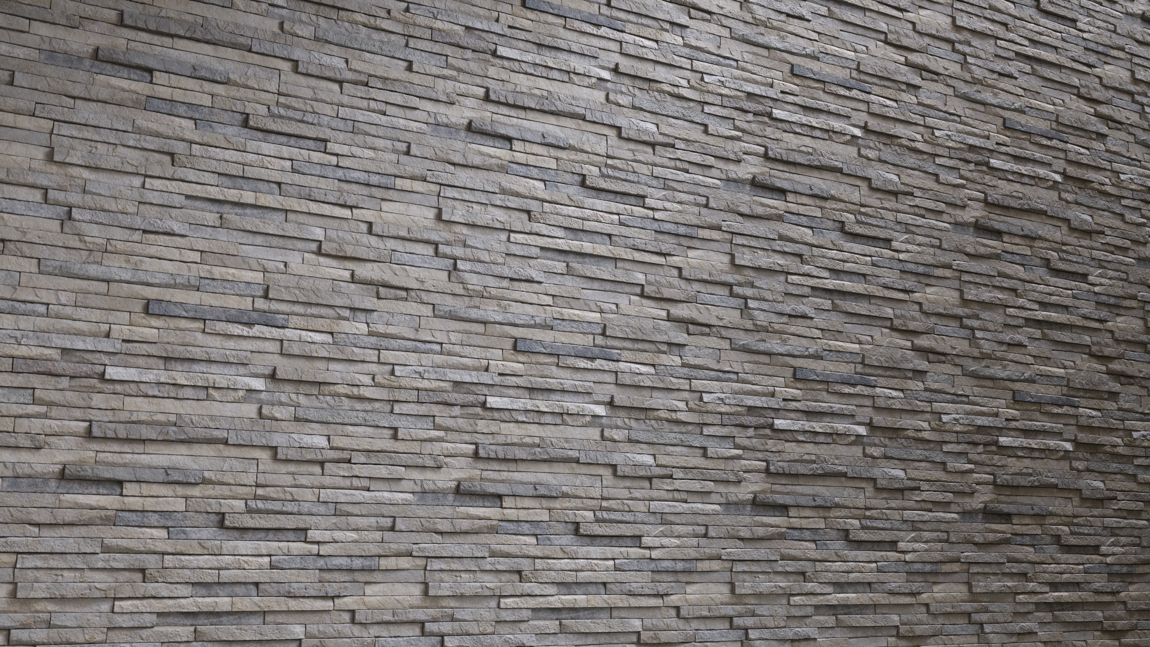 Stacked Stone Wall Cladding - PBR0312