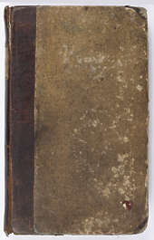 paper book cover old leather