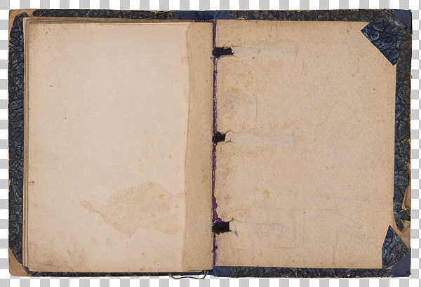 paper book open pages old weathered