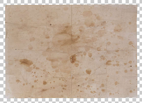 paper sheet stained weathered coffeestain teastain