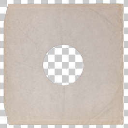 vinyl record cover paper old