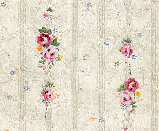 wallpaper wall paper 40s fourties old pink flowers