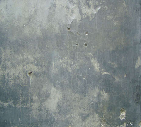 plaster wall dirty