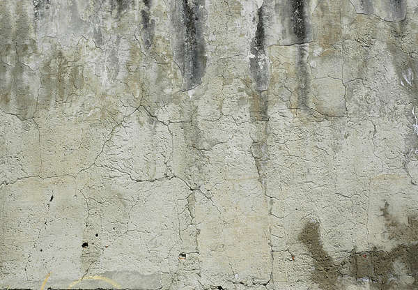 plaster bare wall