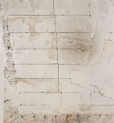 plaster concrete damaged ceiling worn old morocco