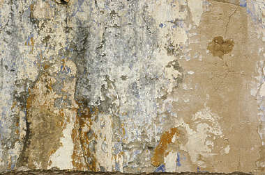 plaster paint cracked worn weathered