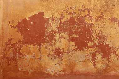 india plaster colored color old