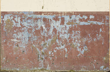 plaster colored worn old