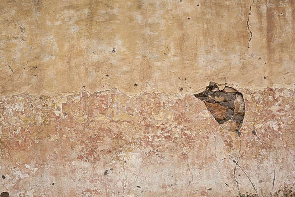 morocco plaster colored color old worn weathered