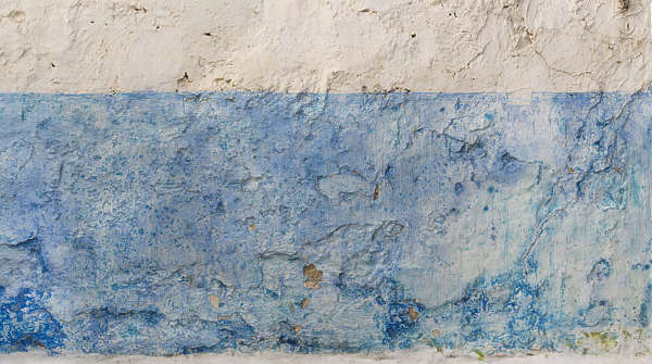 morocco plaster colored rough worn