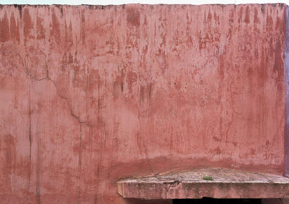 morocco plaster colored leaking