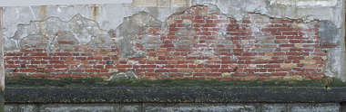 venice italy brick plaster modern weathered old damaged