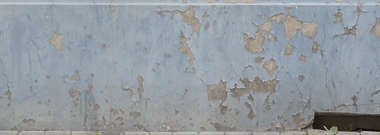 plaster damaged old worn paint painted patch