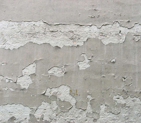 plaster old damaged weathered