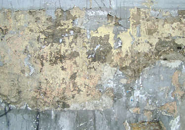 plaster paint old worn