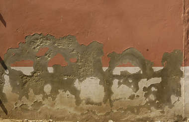 plaster colored paint