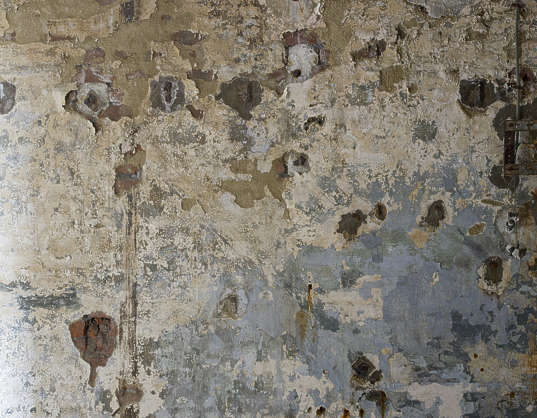 plaster old worn damaged paint