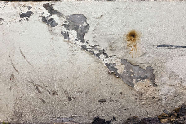 plaster worn damaged old paint
