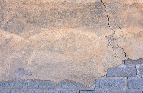 plaster damaged old cracked cracks