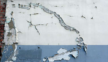 plaster colored cracked crackles cracks paint