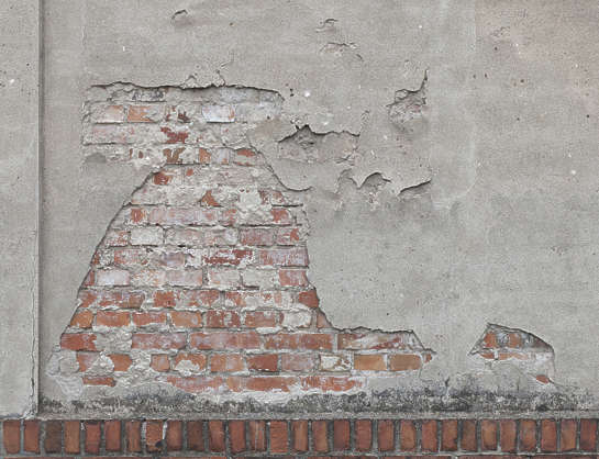 plaster old damaged brick bricks wall damage