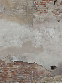 plaster old weathered damaged dirty