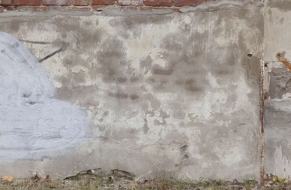 plaster old damaged weathered bare