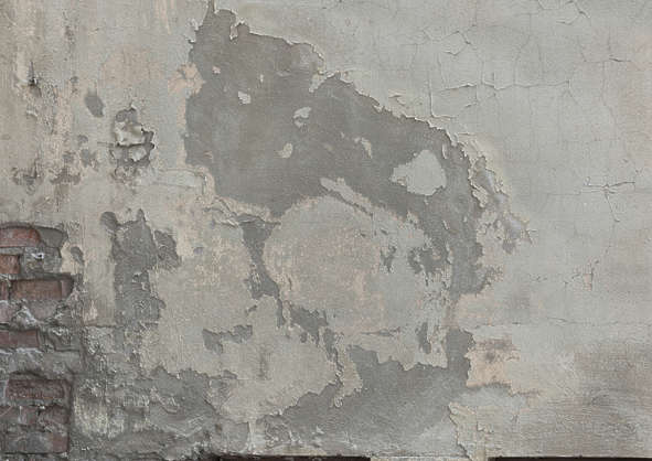 plaster painted dirty damaged worn