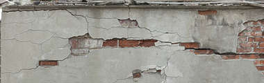 plaster damaged old weathered