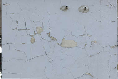 plaster worn paint painted