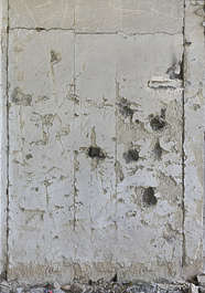 plaster weathered damaged