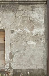 plaster weathered