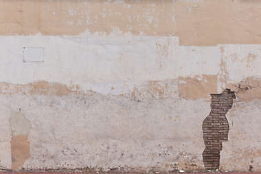 plaster damaged colored spain