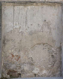 plaster old worn damaged weathered
