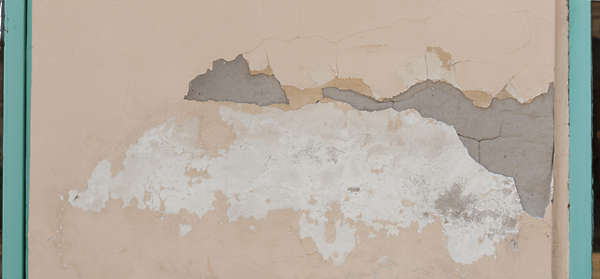 plaster damaged